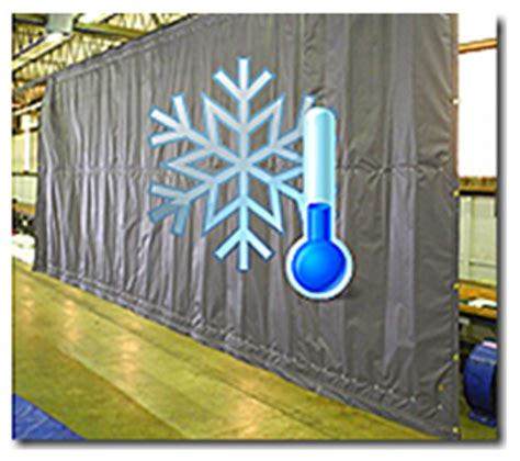 insulated shop divider curtains akon curtain and dividers