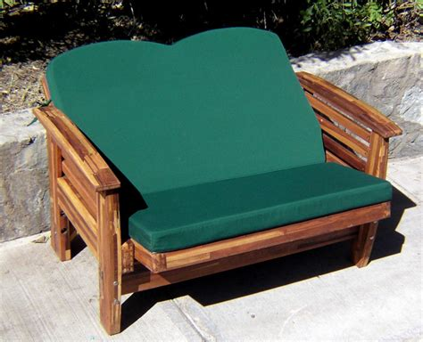Outdoor Reclining Loveseat by Reclining Redwood Loveseat Custom Outdoor Wood Recliners