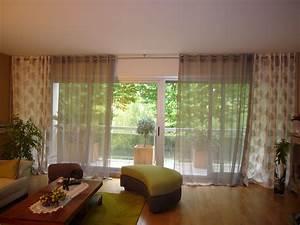Tringle à Rideaux Double : m langer des rideaux de diff rentes mati res sur une m me ~ Premium-room.com Idées de Décoration