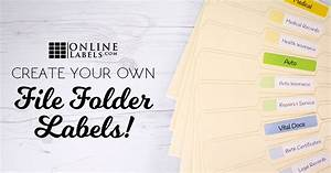 3 Ways to Create Your Own File Folder Labels