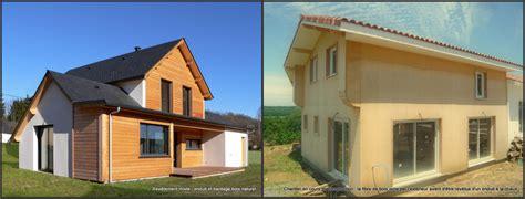 maison en panneaux de bois une maison en bois sans bardage bois pyr 233 n 233 es bois maisons ossature bois 64