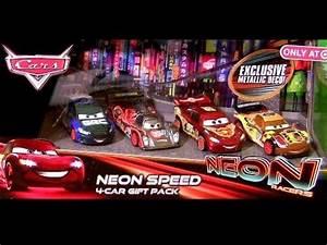 Cars 2 Neon Racers 2014 Metallic Finish Shu Todoroki NEW