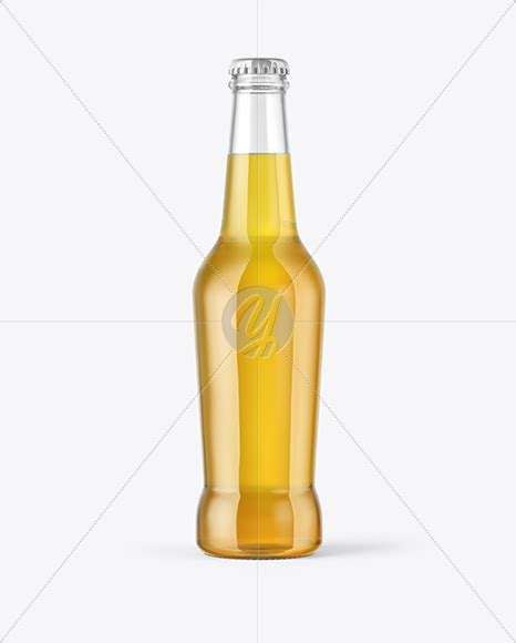 Bottle mockups make the process of presenting and packaging your designs in high quality photorealistic manner possible. Download 330ml Clear Glass Lager Beer Bottle Mockup PSD