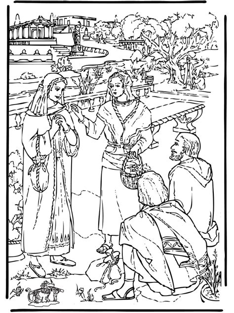 bible coloring pages paul coloring home