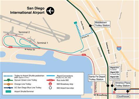 airport san diego metropolitan transit system