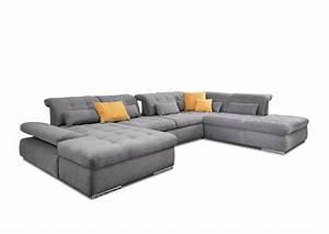 Poco Möbel Online : poco polsterm bel houston u f rmiges sofa in grau m bel ~ Watch28wear.com Haus und Dekorationen