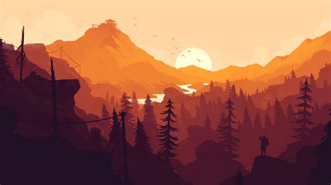 firewatch game hd games  wallpapers images