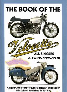 Velocette Shop Manual Service Repair Book Twin Single