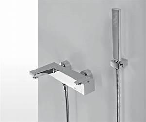 Robinet Thermostatique Bain Douche : echo 43714 mitigeur thermostatique bain douche robinet tap bathroom horus bathroom horus ~ Melissatoandfro.com Idées de Décoration