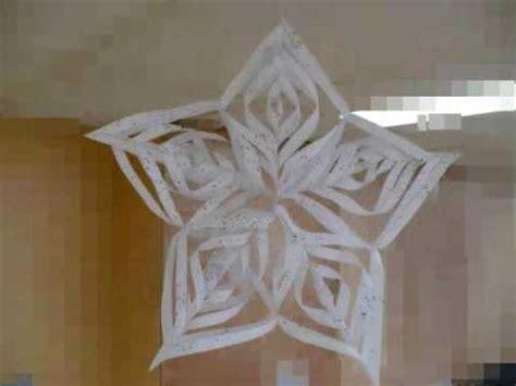 flocon de neige en papier flocon de neige wmv