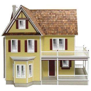 victorias farmhouse dollhouse kit   beautiful  story