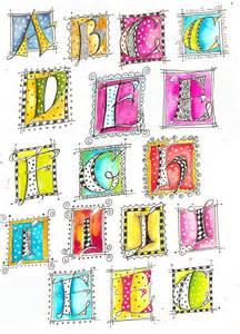 Martha Lever Doodle Hand Lettering