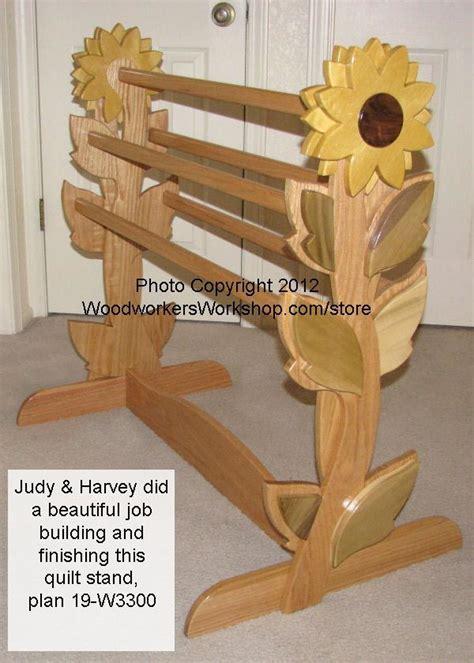 quilt rack woodworking plan woodworkersworkshop