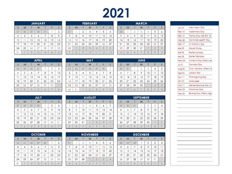 singapore annual calendar  holidays