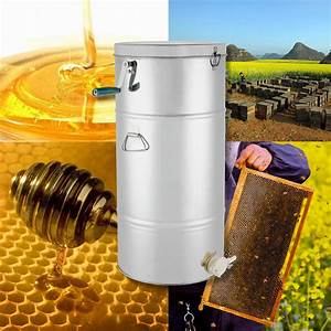 China Stainless Steel 2  4 Frame Manual Honey Extractor