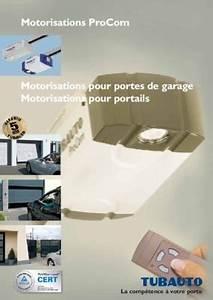 Porte De Garage Tubauto : tubauto procom 10 notice manuel d 39 utilisation ~ Melissatoandfro.com Idées de Décoration