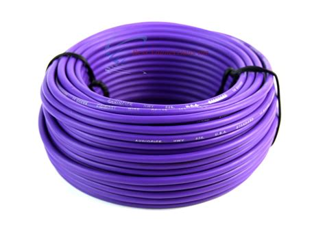 what color is the ground wire 14 ga 50 ft rolls primary auto remote power ground wire