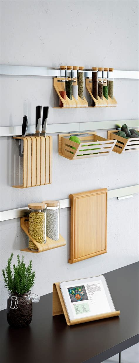 Kitchen Wall Organization Ideas by 35 Best Small Kitchen Storage Organization Ideas And