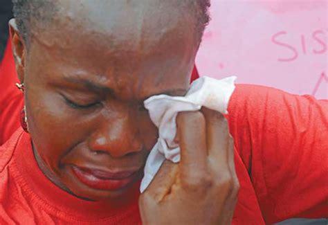 mothers   missing chibok girls cries