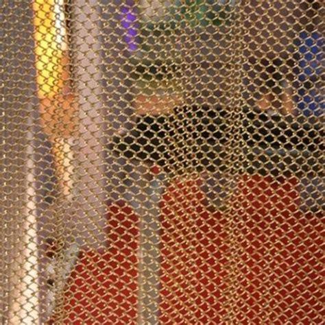 metallic cloth metal mesh fabric metal mesh curtain of