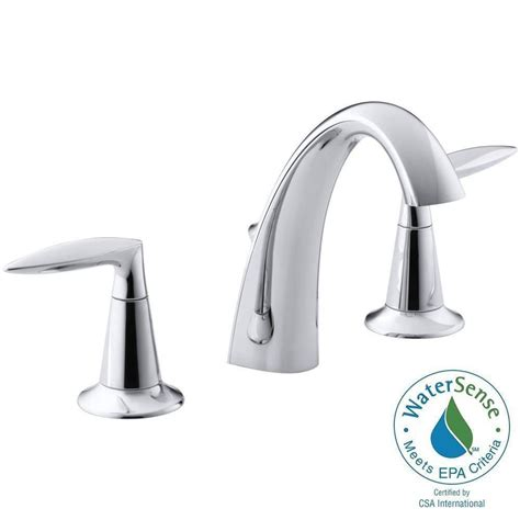 kohler widespread bathroom faucet simple pool deck plans 2