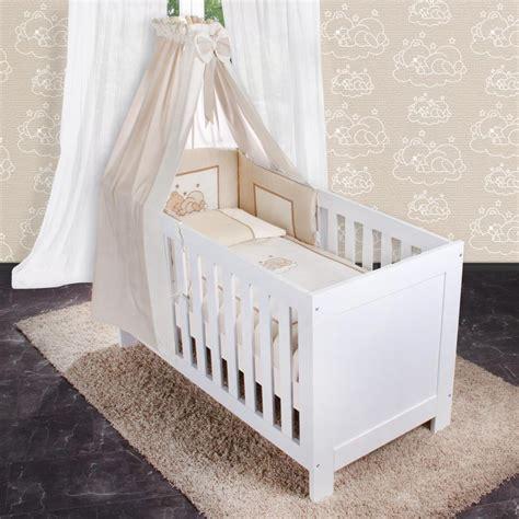 Kissen Für Babybett by 5 Tlg Bettw 228 Sche Mit Applikation Bettset Komplett