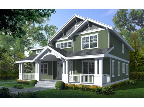 two house plans with front porch craftsman bungalow house two craftsman house plan