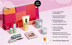 Clinique Bonus Time 9 Freebies with $35 Purchase