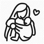 Mother Icon Mom Sling Drawing Child Clipart