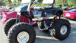 Super Swamper Lifted Golf Cart
