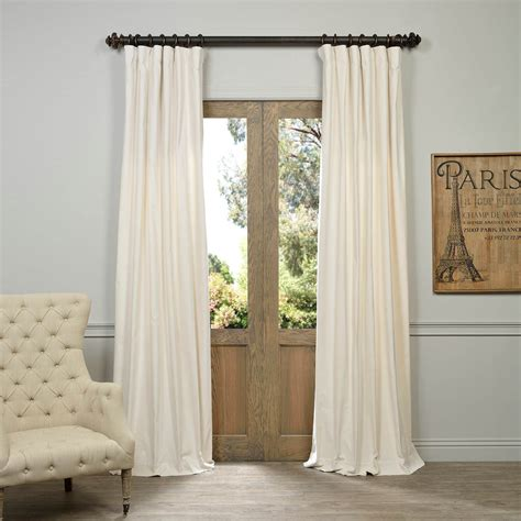 velvet drapes get ivory vintage cotton velvet curtain velvet drapes