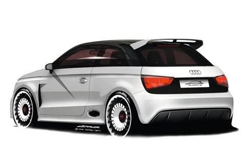 2019 Audi A1 Clubsport Quattro Concept  Car Photos