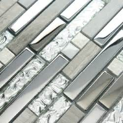 decorative kitchen backsplash tiles 11 sheets lot glass tile mosaic kitchen backsplash silver gray crackle ceramic wall tiles