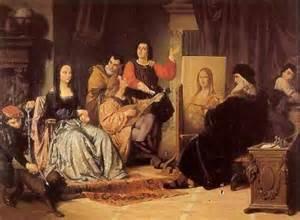 Mister Qui A Peint La Joconde la joconde pose pendant que l 233 onard de vinci peint ami