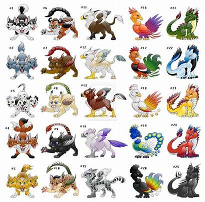 Creatures Mythical Adopt Mythological Monsters Center