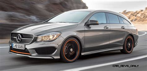 2016 Mercedes-benz Cla250 Shooting Brake Revealed For Euro
