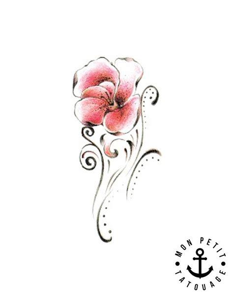 petit tatouage fleur tribal mon petit tatouage temporaire