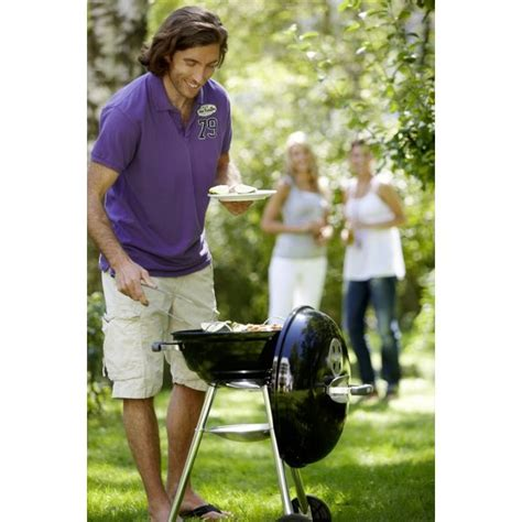 le mod 232 le kettle 47 cm le barbecue compact charbon de bois weber