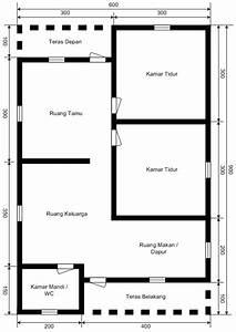 Denah Rumah Dengan Ruang Praktek Bidan