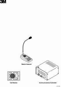 3m Intercom System 2475 User Guide
