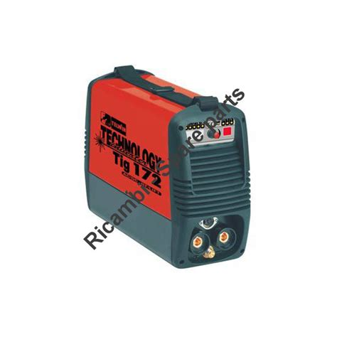telwin parts for inverter technology tig 172 ac dc hf lift 230v