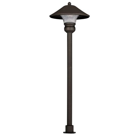 holiday living 10 ct path lights hton bay low voltage bronze outdoor integrated led path