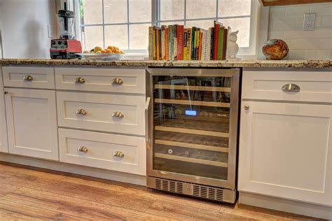 installing wine cooler in existing cabinet how do i child proof my wine bottle storage