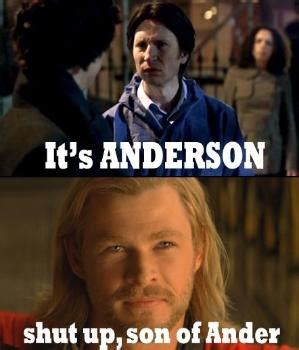 Anderson Meme - quot anderson don t talk out loud you lower the iq of the entire street quot