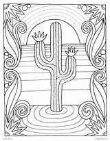 Desert Coloring Plants Wallpapers Phone Getdrawings sketch template