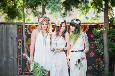 Bohemian Backyard Bridal Shower Inspiration   Green