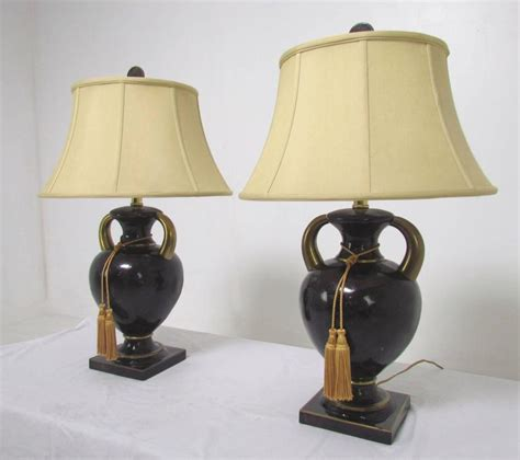 Maitland Smith L Shades by Pair Of Table Ls In Tessellated Horn By Maitland Smith