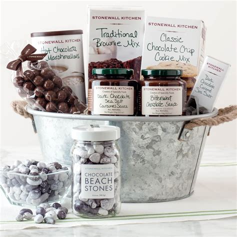 stonewall kitchen chocolate lovers gift set sweets chocolate gifts food shop  exchange