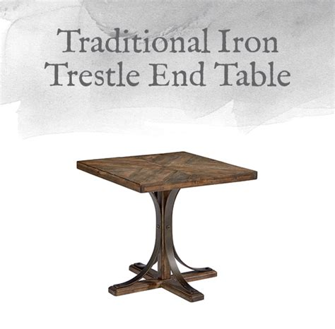 magnolia home iron trestle table magnolia home preview traditional collection design by gahs