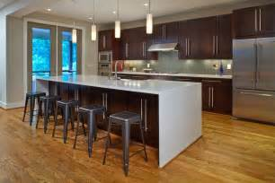 kitchen island leg waterfall edge countertop why it belongs in your kitchen